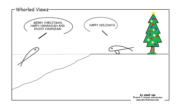 emell vee, whorled viewz, happy holidays