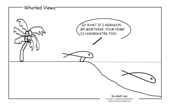 stewardism, mortgage underwater