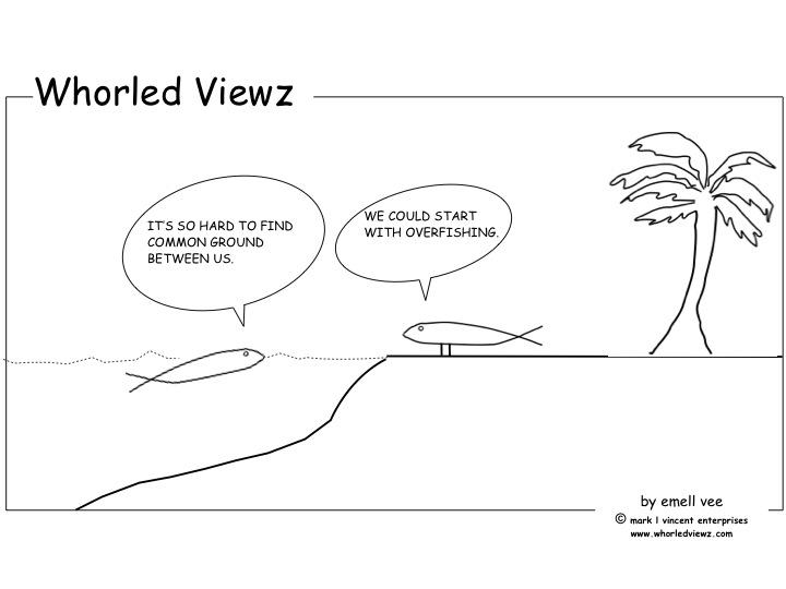 overfishing, whorled viewz, emell vee