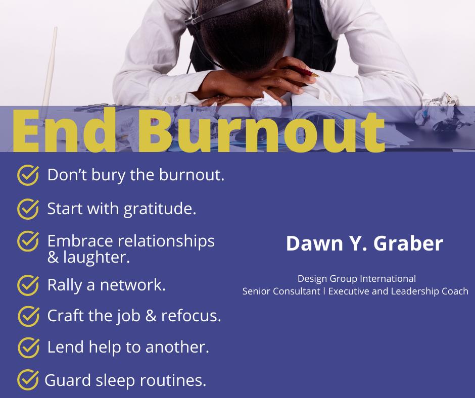 Seven Routines to Decrease Burnout