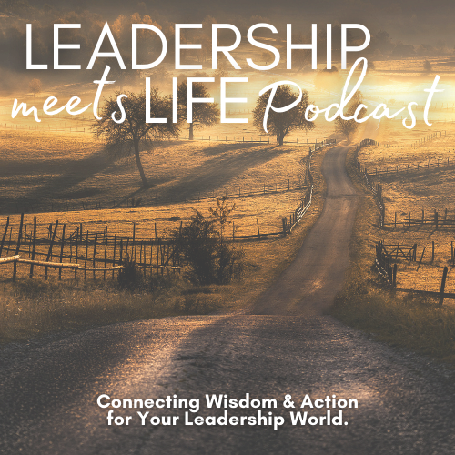 Leadership Meets Life Podcast Logo - Thumbnail